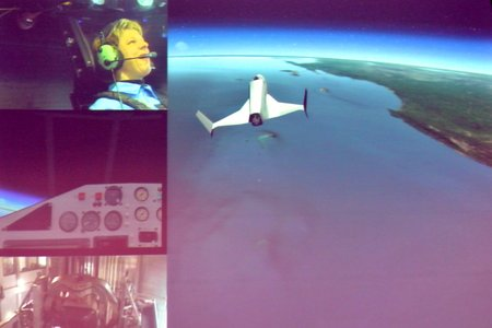 "Desdemona Space Flight Simulation: ""Astronaut for a Day"""